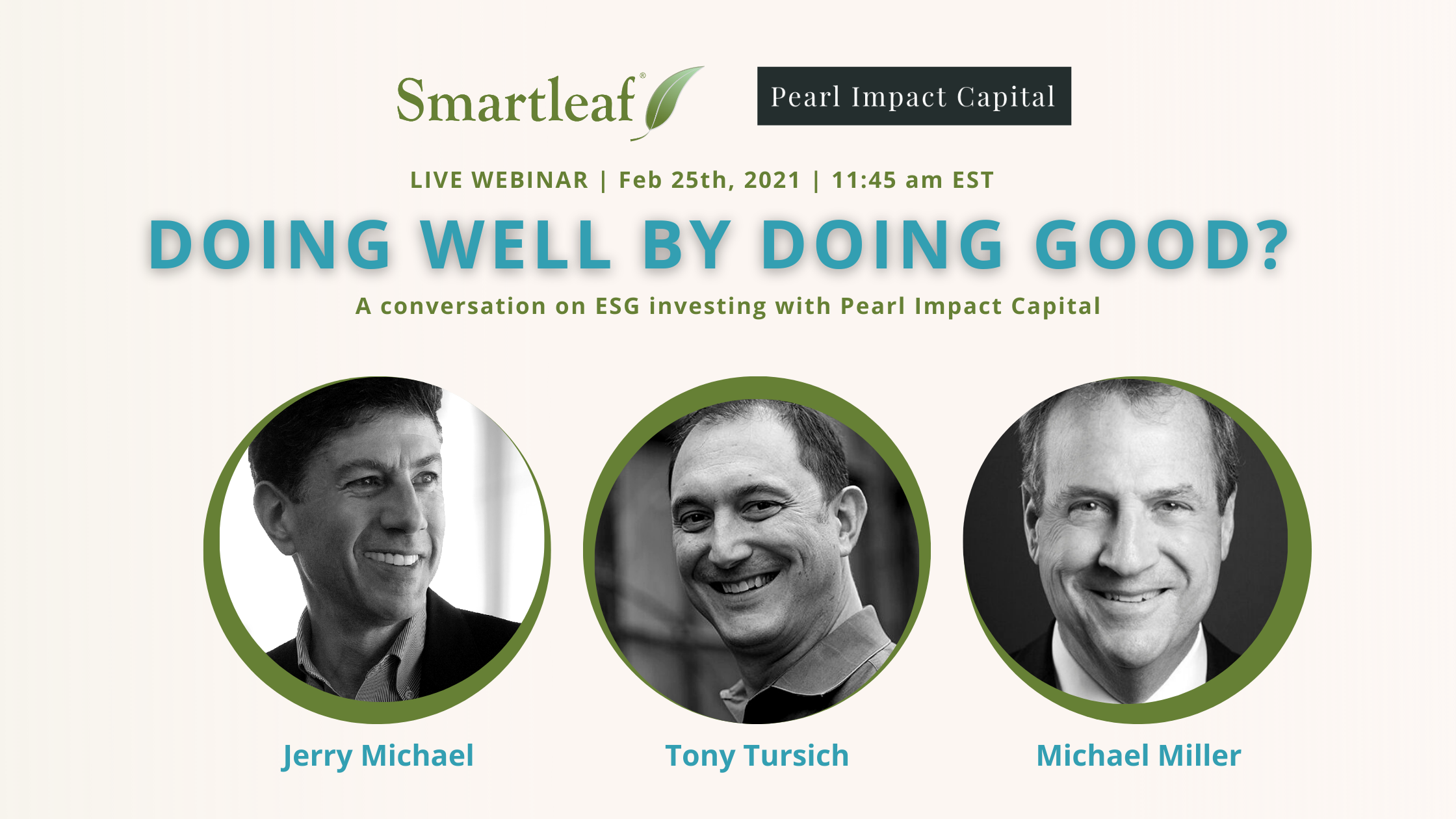 Webinar: Doing Well by Doing Good?