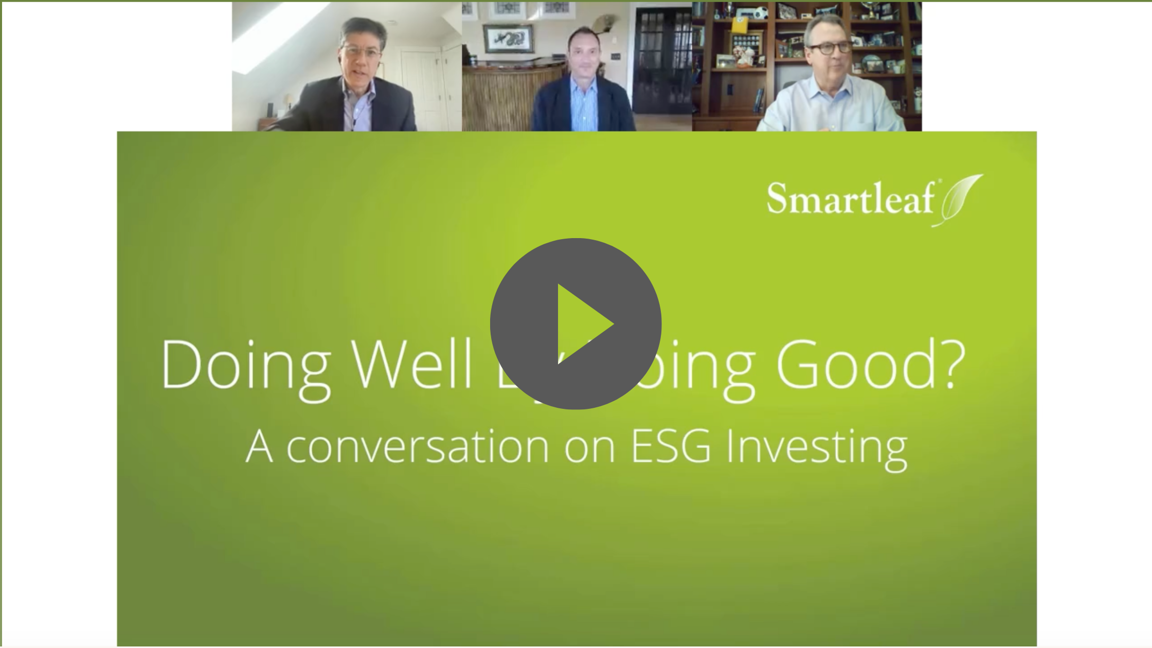 Webinar Recording: Doing Well by Doing Good?