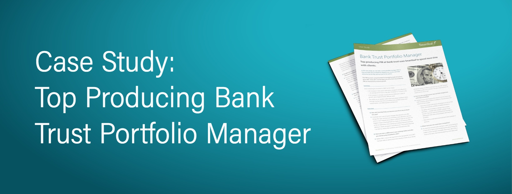 Case Study: Bank Trust Portfolio Manager
