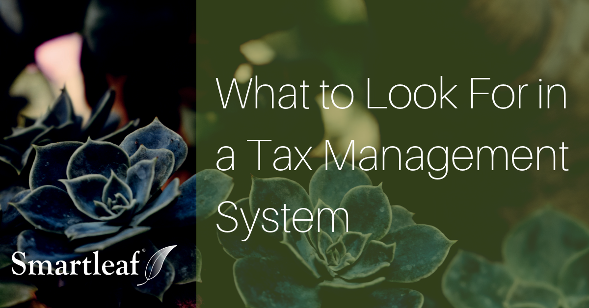 Video: What to Look for in a Tax Management System